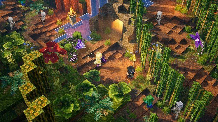 Minecraft Dungeons Jungle Awakens DLC - When Does the First DLC Release?