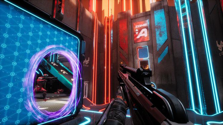 Free-to-play FPS Splitgate: Arena Warfare Blasts Onto Steam