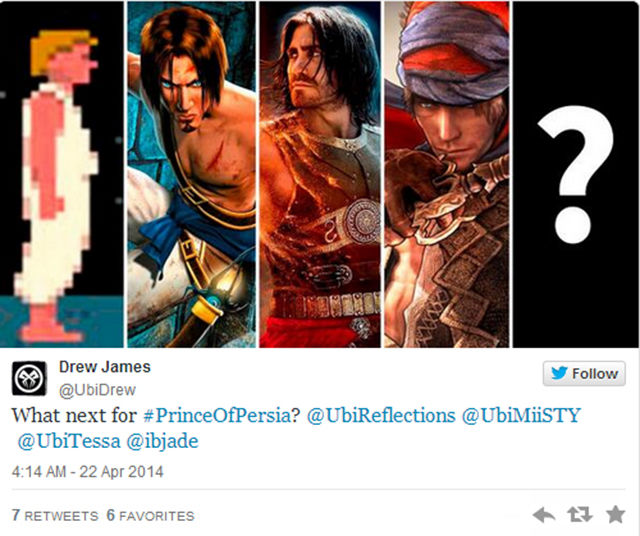 Twitter for Ubisoft employee pulled following Prince of Persia tease