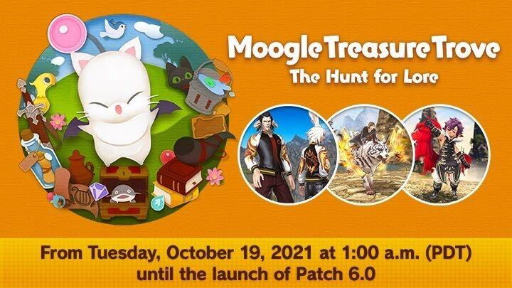 FFXIV Moogle Treasure Trove - The Hunt for Lore Event Start and End Dates, Rewards