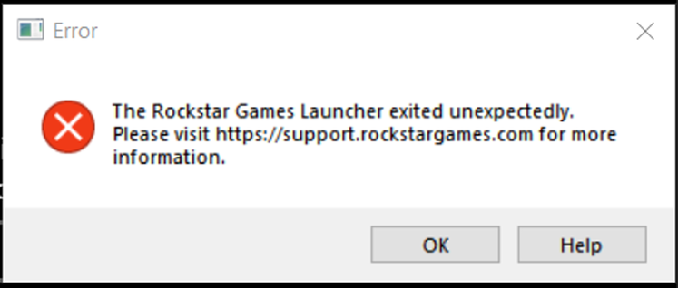 Red Dead Redemption 2 Crash Fix - Rockstar Game Launcher exited unexpectedly