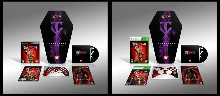 WWE 2K14 getting coffin-shaped in Undertaker themed
