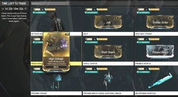 Warframe: How To Get Shell Shock, High Voltage, Jolt, And Voltaic Strike