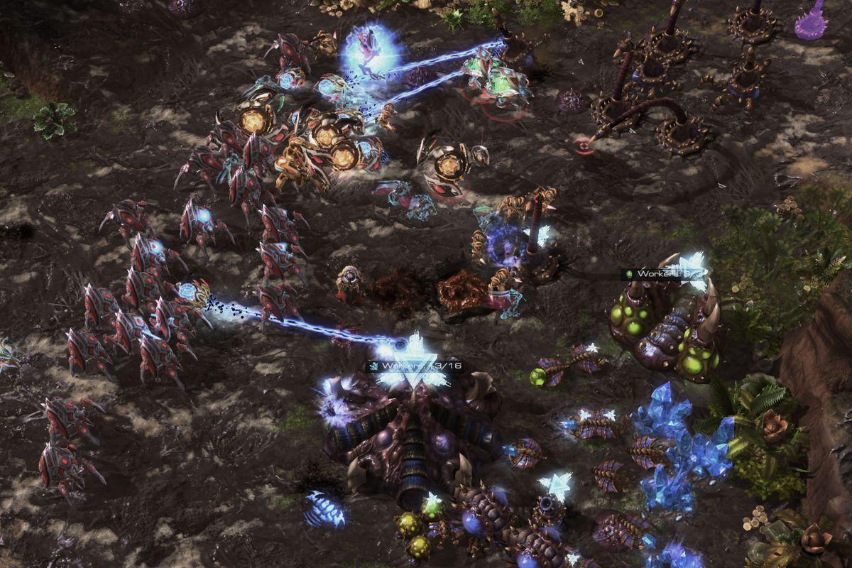 starcraft 2 game server