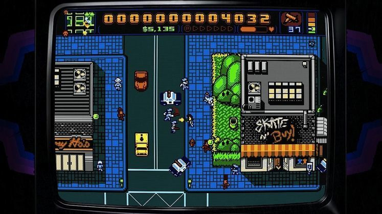 Retro City Rampage finally available for Euro PSN