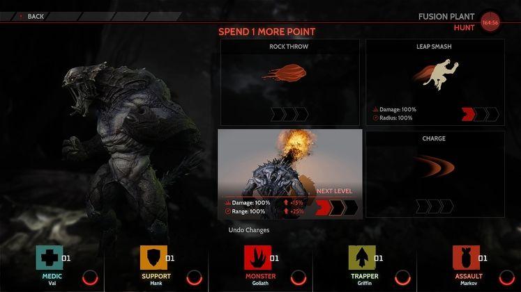 Evolve screens show new monsters, monster evolution screen