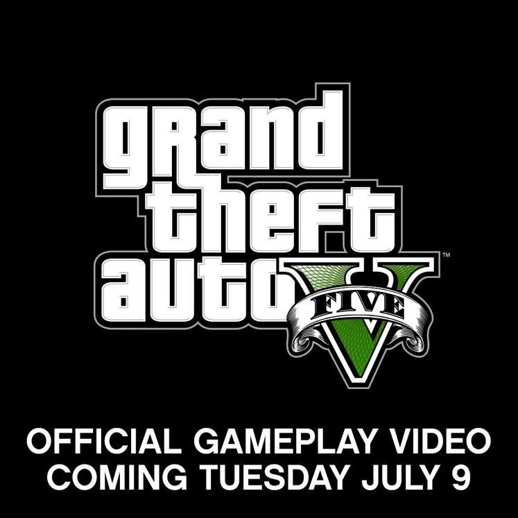 Rockstar announces Grand Theft Auto V gameplay trailer for tomorrow, 9th July