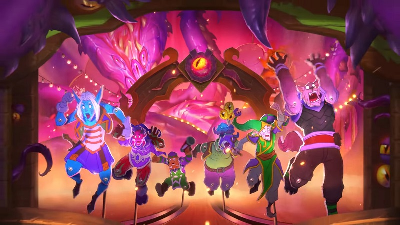 Hearthstone S Madness At The Darkmoon Faire Expansion Gamewatcher Players will also receive a reward of 500 gold and five madness at the darkmoon faire card packs just for logging in from december 15 to january 18. madness at the darkmoon faire expansion
