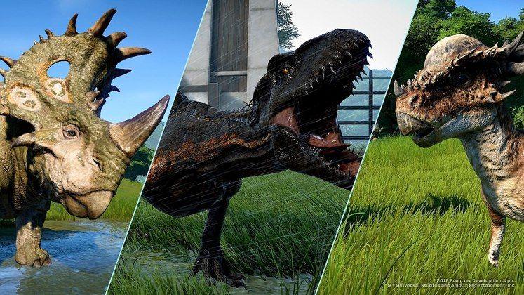 Jurassic World Evolution - Where To Find The Fallen Kingdom DLC Dinosaurs