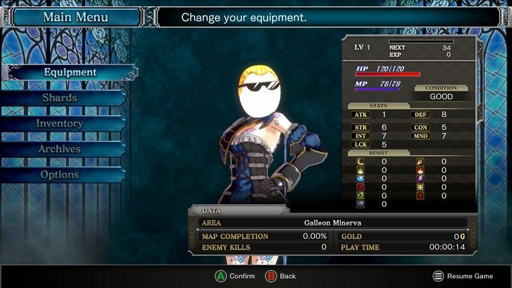 Bloodstained Ritual of the Night Cheats - Full Cheat List