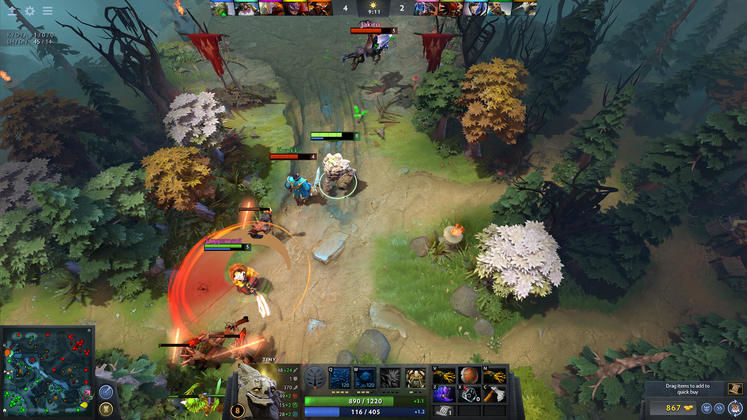 DOTA 2 December Player Count Lowest in Six Years