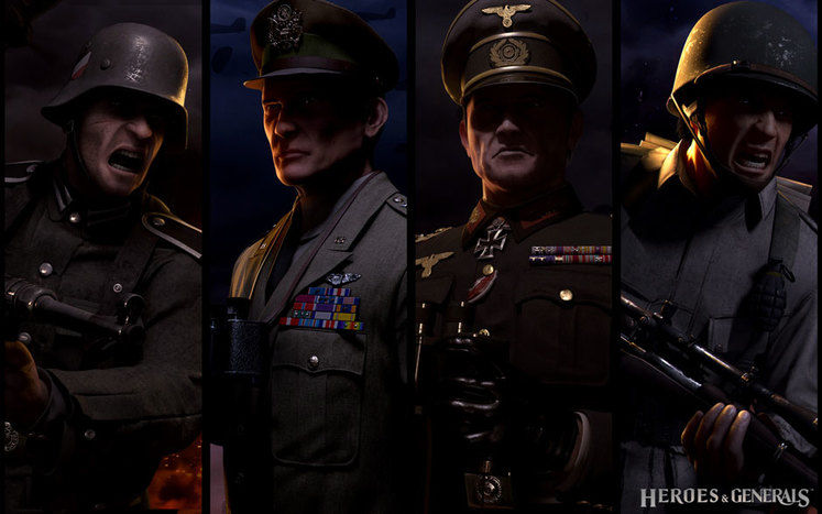 New Heroes & Generals trailer shows off various player roles