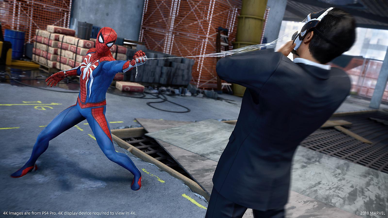 gambar game ps4 marvel's spiderman Game PS4 Yang Wajib Di Mainkan