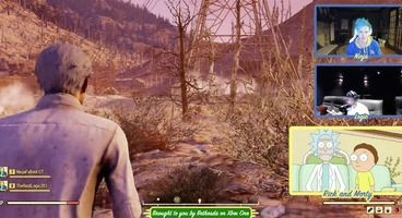 Viewers Hated the Fallout 76 Rick and Morty, Ninja Twitch Stream
