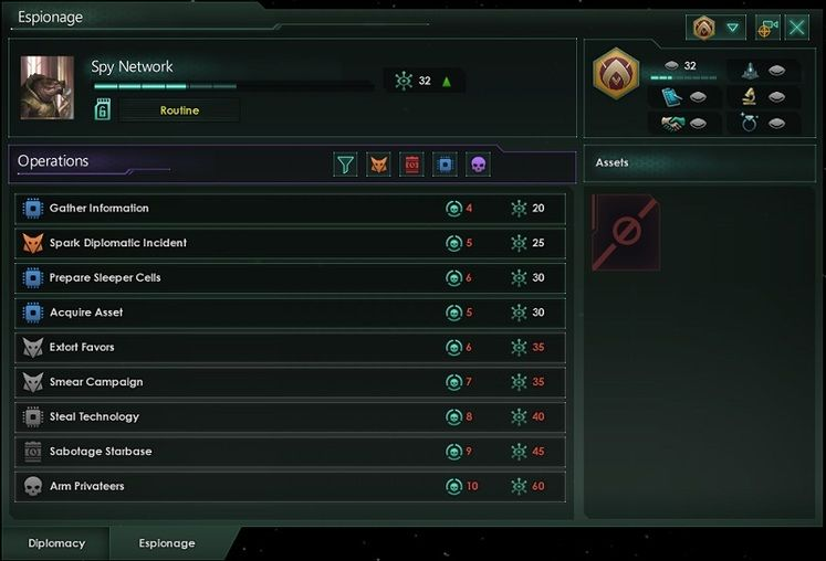 Stellaris Update 3.0 Gets April Release Date, Espionage System Simplified Since First Reveal