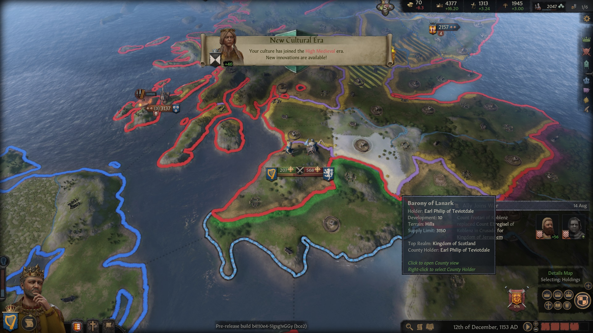 Crusader Kings III Preview | GameWatcher