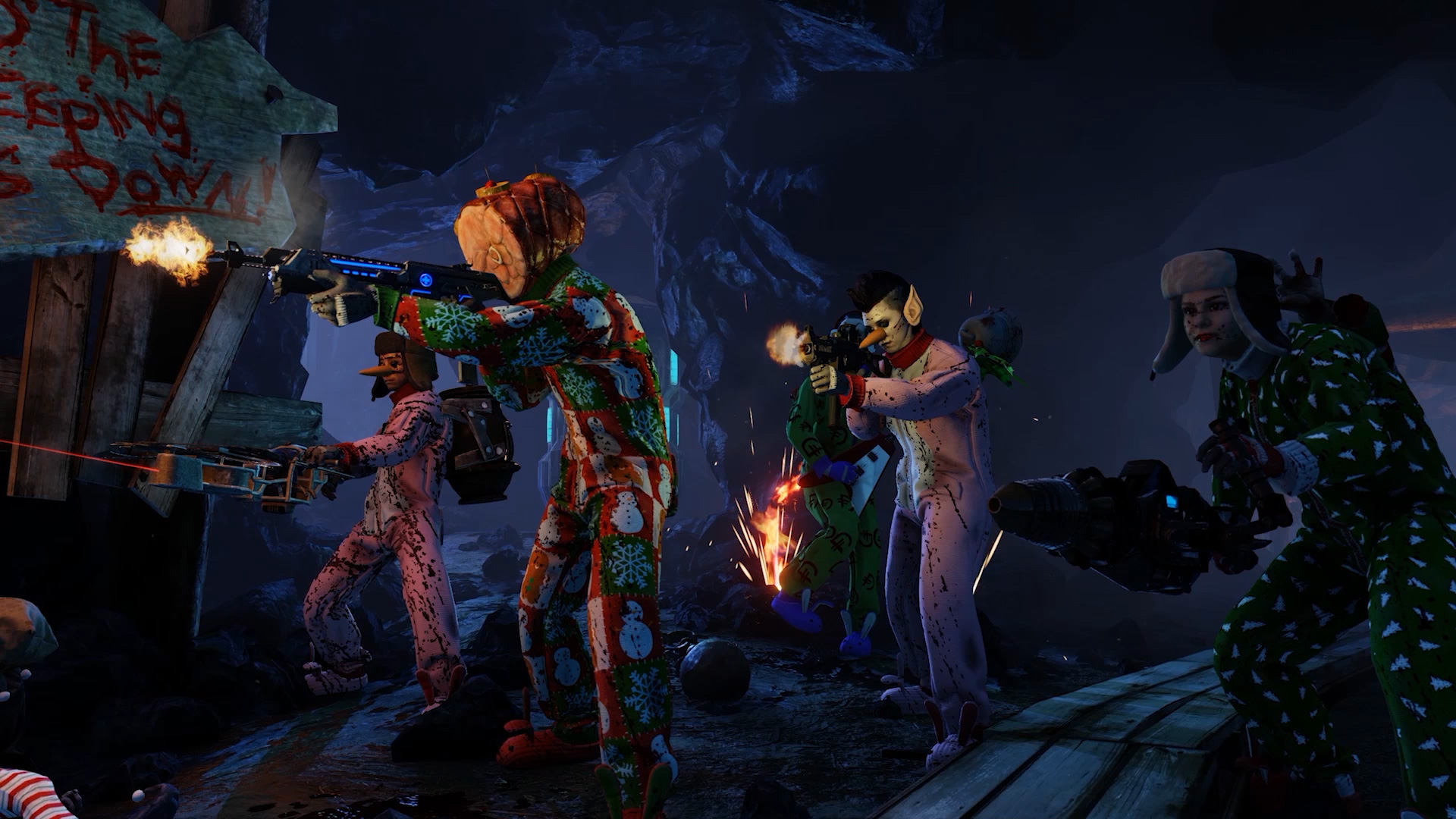 Kill Krampus As Killing Floor 2 Gets Free Holiday Update