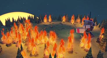 Uber Entertainment tease fire in Planetary Annihilation update, new PTE option