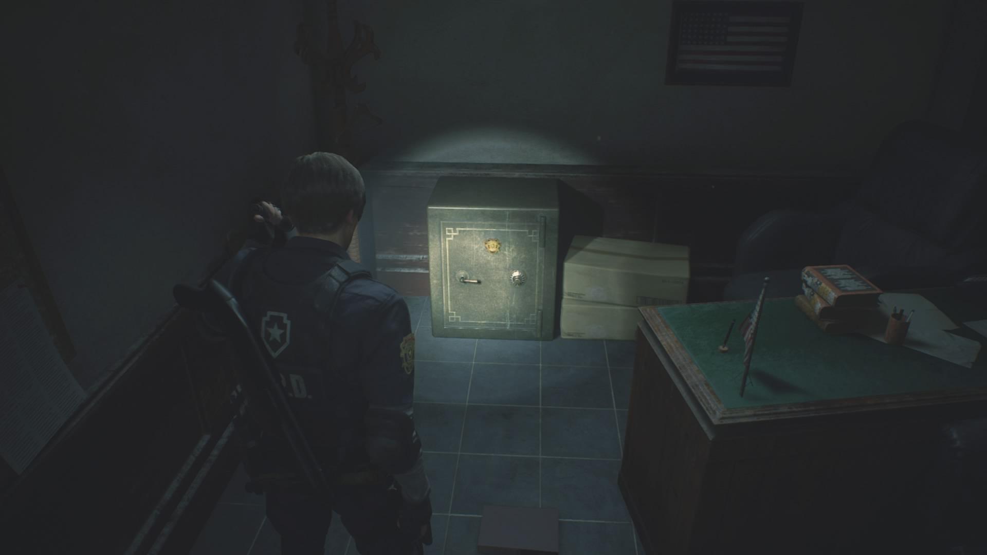 Bildergebnis für resident evil 2 remake safe