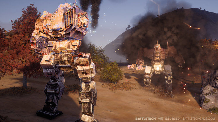 Battletech shows off its Story Mode, which is