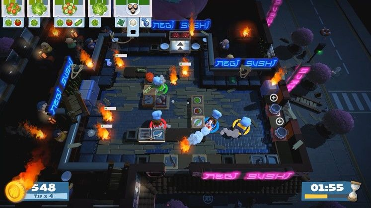 Overcooked 2 Soon To Add New Game+ Mode