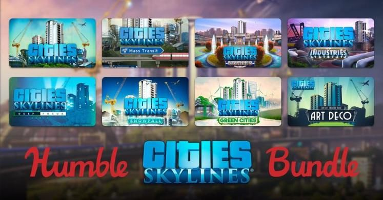 Cities: Skylines Humble Bundle Priced at $1