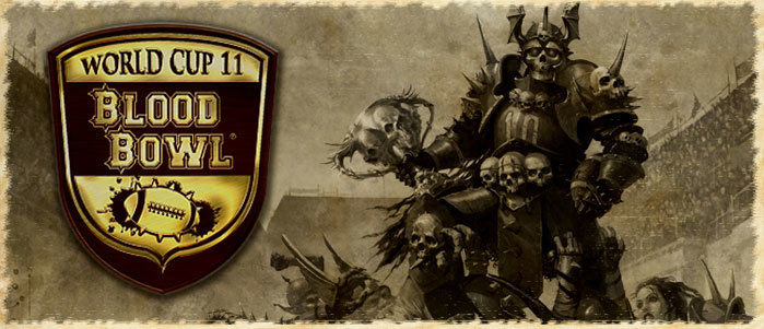 Blood Bowl World Cup 2011 announced
