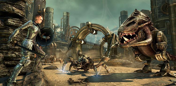 Venture Back Into Morrowind's Clockwork City With The Elder