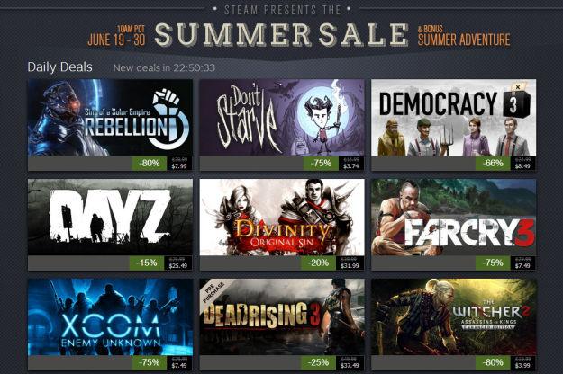 Steam Summer Sale 2014 underway