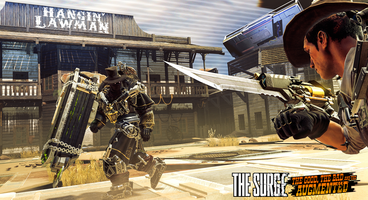 The Surge Wild West DLC First Screenshots Show a Gunslinger Grim Reaper