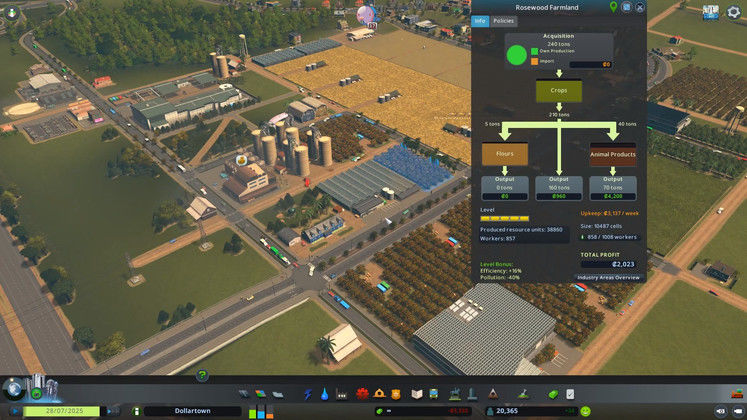 Cities: Skylines - Industries Review