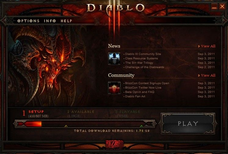 Diablo III installation servers now live