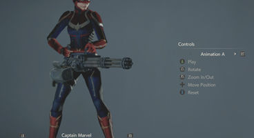 How to Play as Captain Marvel in Resident Evil 2 Remake