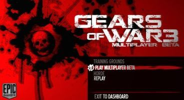 Gears of War 3 beta now available for all Gold members