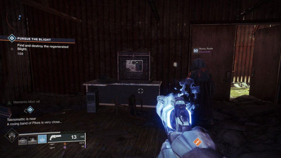 Destiny 2 Shaft 13 Lumina Chest Location Gamewatcher