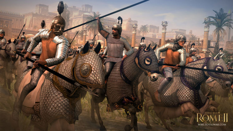 Parthia unveiled in Total War: Rome II