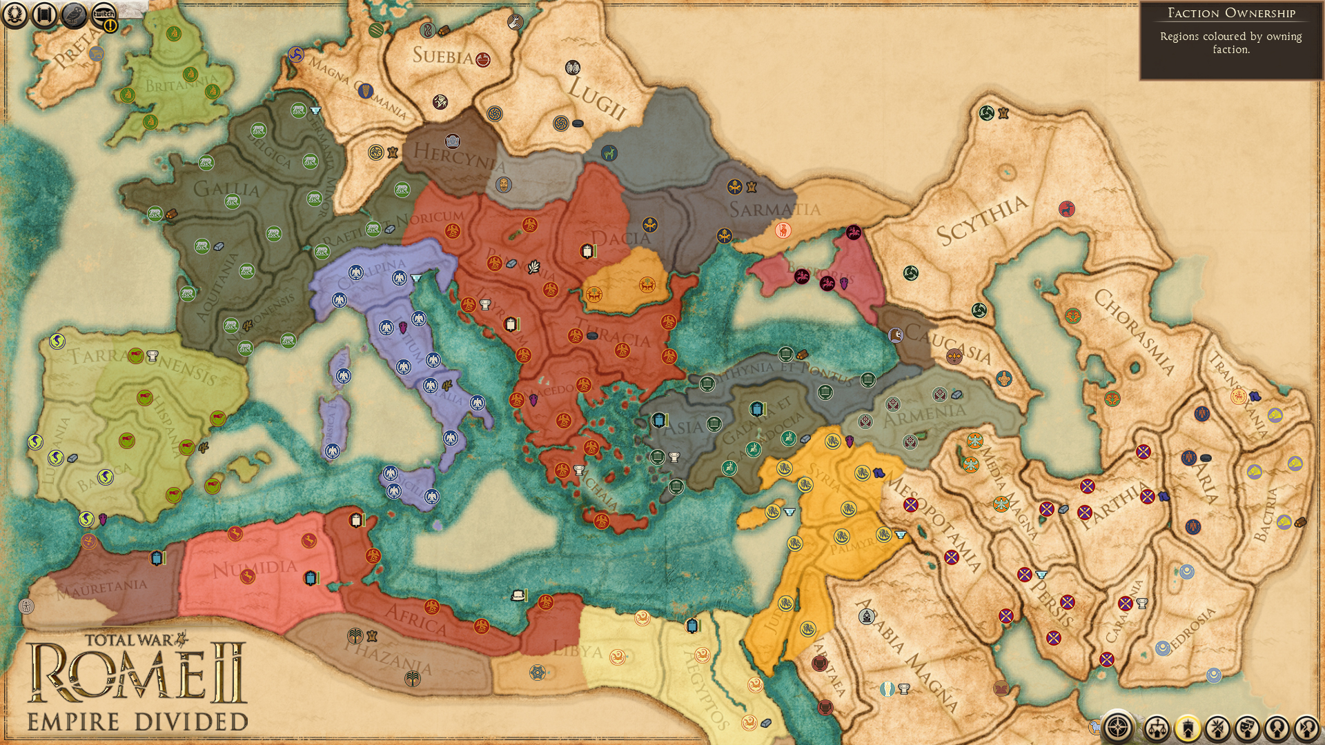 All The Details on Total War: Rome II - Empire Divided ...