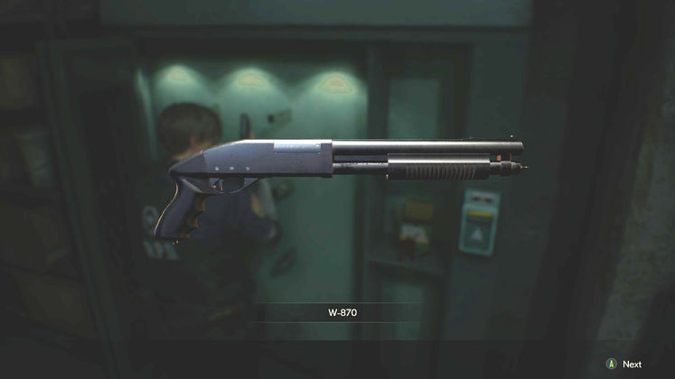 Resident Evil 2 Remake Shotgun - Where is the Weapons Locker Key Card?