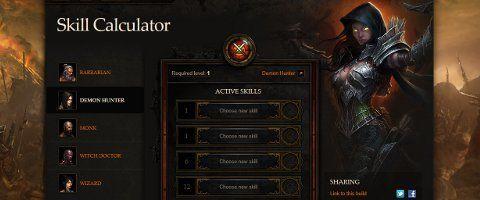 Diablo III skill calculator now live