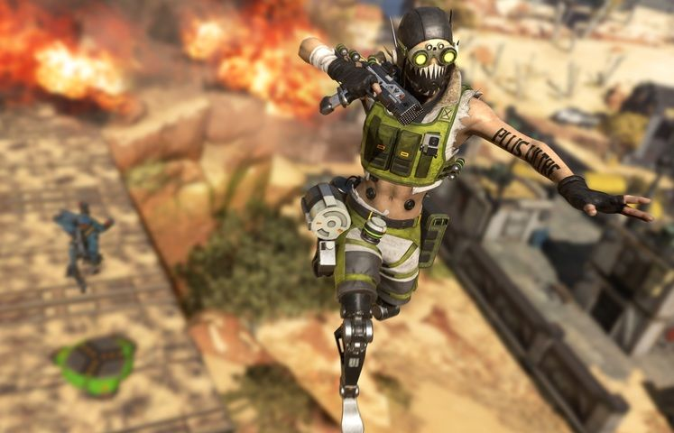 Apex Legends Supply Bin Bug - How to Launch into the Air with a Supply Bin?