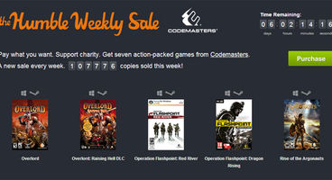 Humble Weekly Sale from Codemasters with DiRT, Overlord and Operation Flashpoint