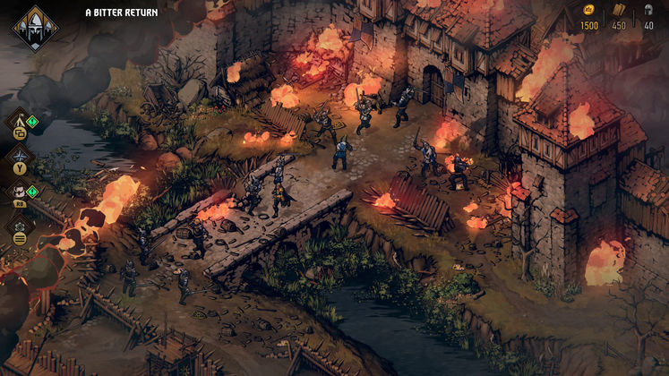 Thronebreaker: The Witcher Tales Has Come to Steam