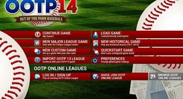 Out of the Park Baseball 14 officially released