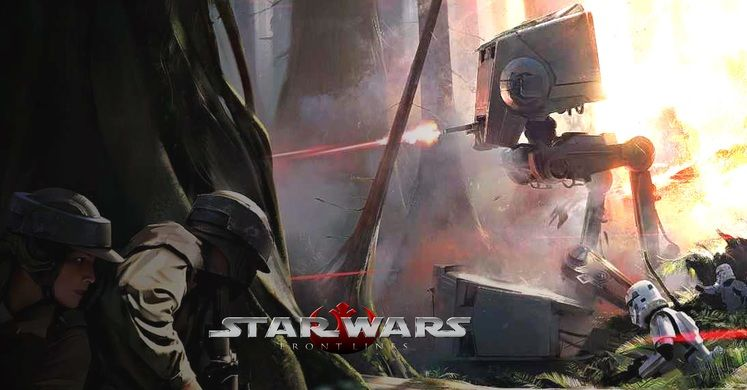 Want A New Star Wars RTS? Frontlines - Galactic Civil War Is What You Need