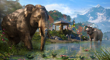 """Don't mess with Far Cry 4's warrior elephants"""""""