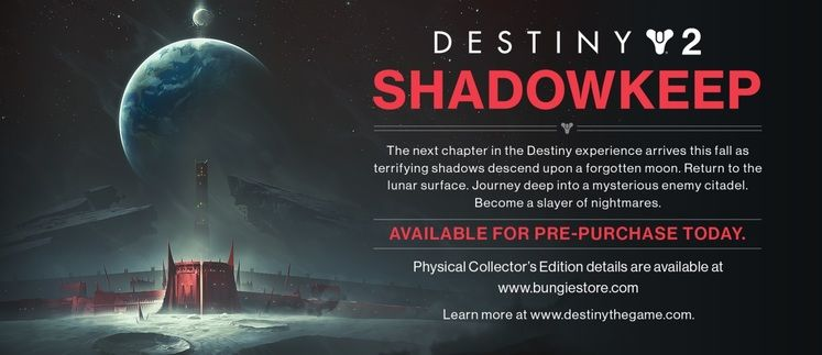 Destiny 2 Shadowkeep DLC - What do we know?