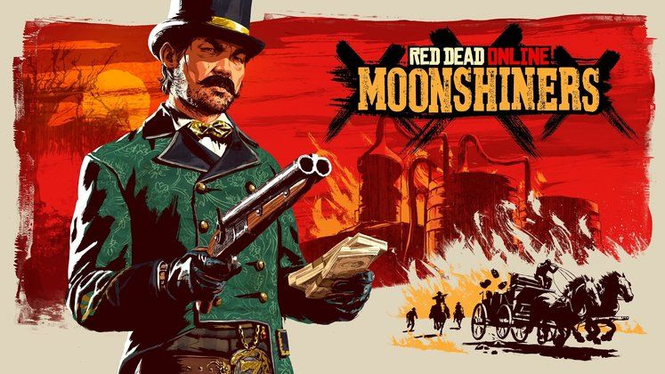 Red Dead Online Update - Moonshiner Frontier Pursuit Coming This Month