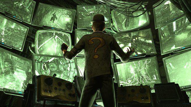 The Riddler revealed in Batman: Arkham City