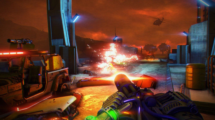 New Far Cry 3: Blood Dragon update will add ability to reset garrisons