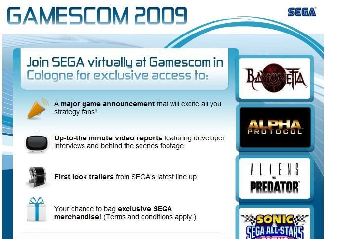 Sega hints at Major Game Announcement for Strategy fans